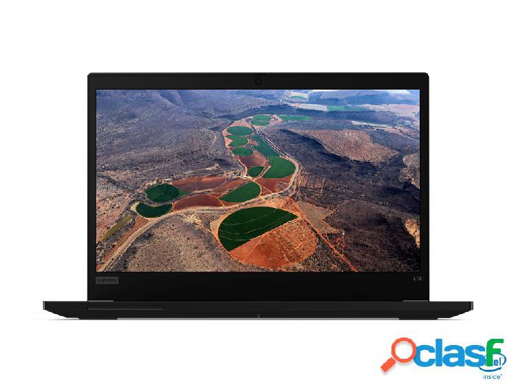 "Laptop lenovo thinkpad l13 13"" hd, intel core i5-10210u 1.60ghz, 8gb, 256gb ssd, windows 10 pro 64-bit, negro - incluye microoft office hogar y empresas 2019"