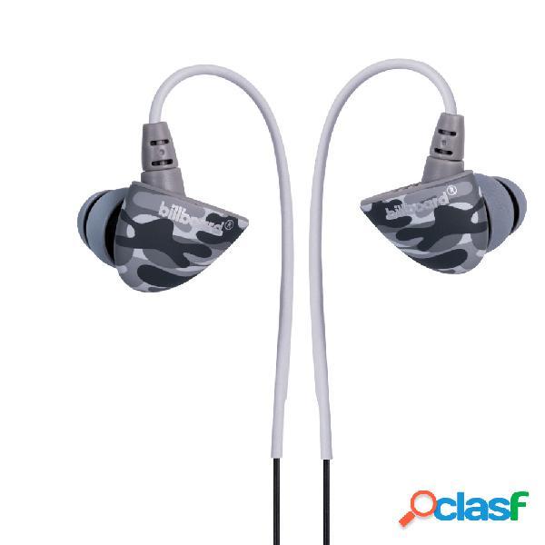 Stf mobile audífonos intrauriculares con micrófono survivor, inalámbrico, bluetooth, gris