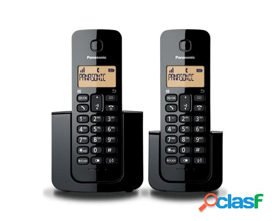 Panasonic teléfono kx-tgb112meb dect, inalámbrico, negro