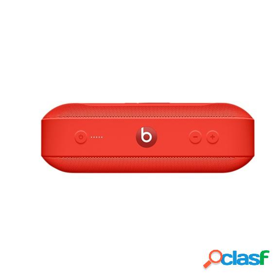 Beats by dr. dre bocina portátil beats pill+, bluetooth, inalámbrico, rojo
