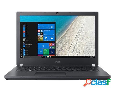 "Laptop acer travelmate p4 14"" hd, intel core i3-7100u 2.40ghz, 4gb, 1tb, windows 10 pro 64-bit, negro"