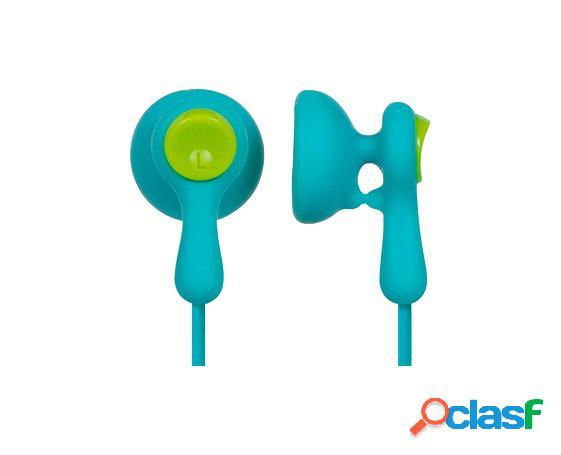 Panasonic audífonos intrauriculares rp-hv41pp, alámbrico, 1.1 metros, 3.5mm, azul