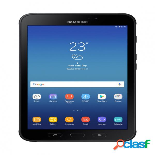 Tablet samsung galaxy tab active2 8'', 16gb, 1280 x 800 pixeles, android 7.1, bluetooth 4.2, negro