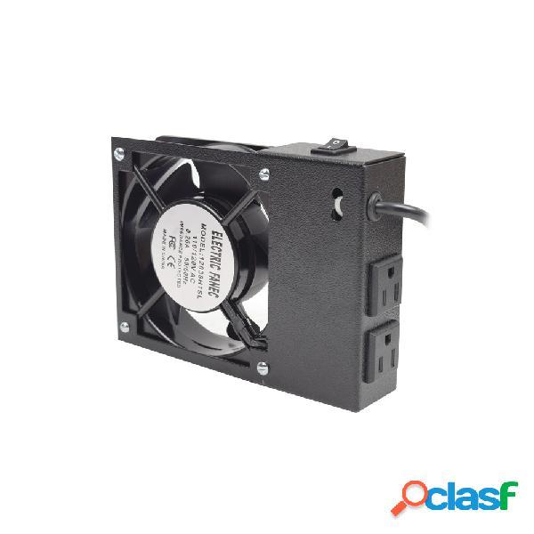 Linkedpro ventilador para gabinete de pared, 110v, negro