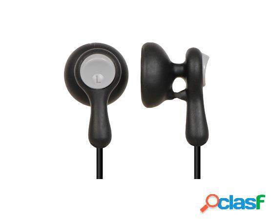 Panasonic audífonos intrauriculares rp-hv41pp, alámbrico, 1.1 metros, 3.5mm, negro