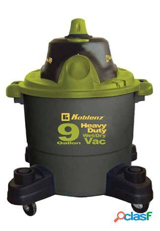 Koblenz aspiradora seco-mojado wd-9k, 34 litros, negro/verde