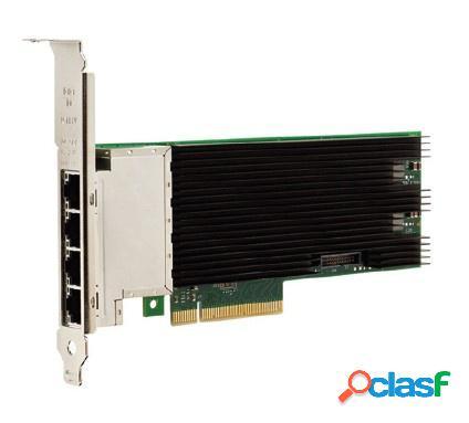 Intel tarjeta de red x710t4blk de 4 puertos, 10000 mbit/s, pci express