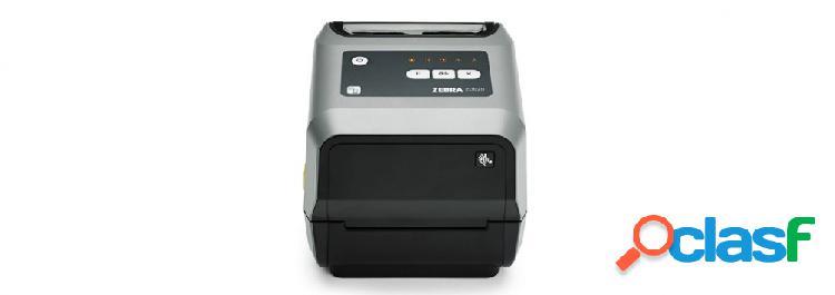 Zebra zd620, impresora de etiquetas, térmica directa, 203 x 203dpi, bluetooth, usb 2.0, negro/gris