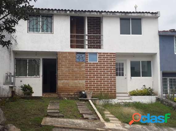 Linda casa en condominio en ahuatepec