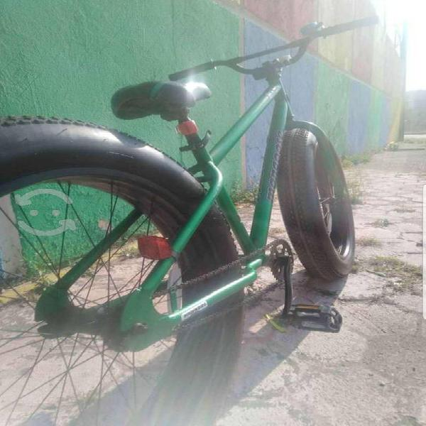 Bicicleta fat bike mongoose rodada 26 impecable