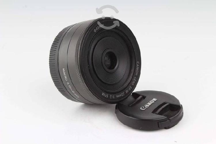 Lente canon eos m 22mm