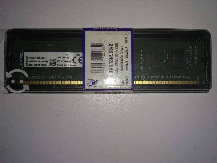 Memoria ram kingston ddr3, 1333mhz, 2gb, cl9, non-