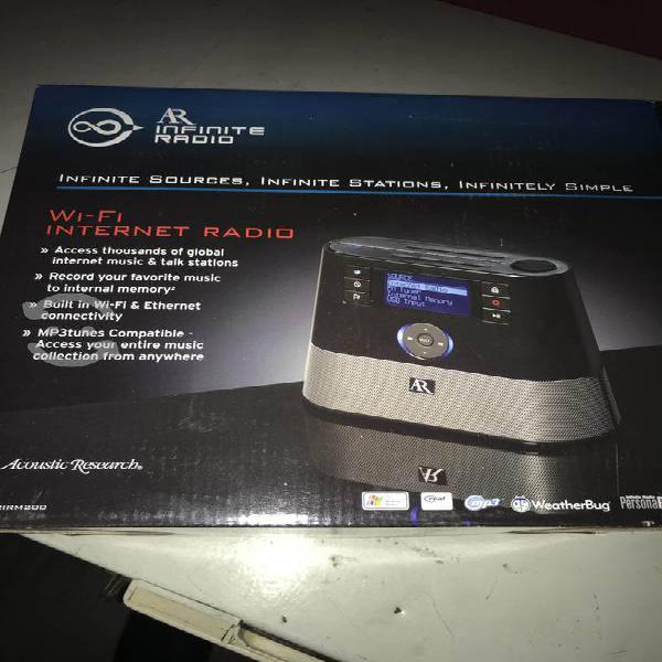 Radio internet/fm wifi. nuevecito