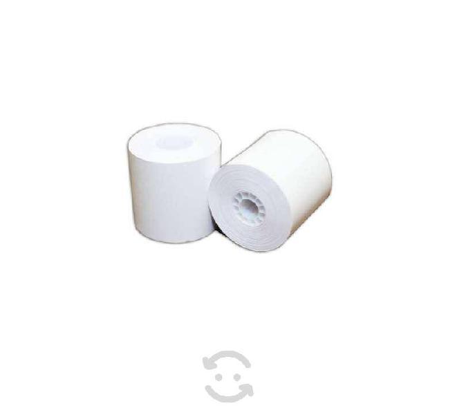 Rollo de papel pcm t8070c50 color blanco punto de