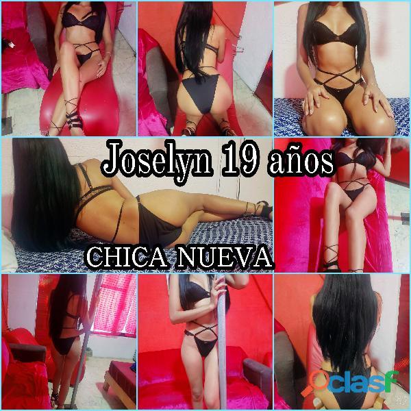 Joselyn 19 años !! Chica nueva, con alto perfil universitario