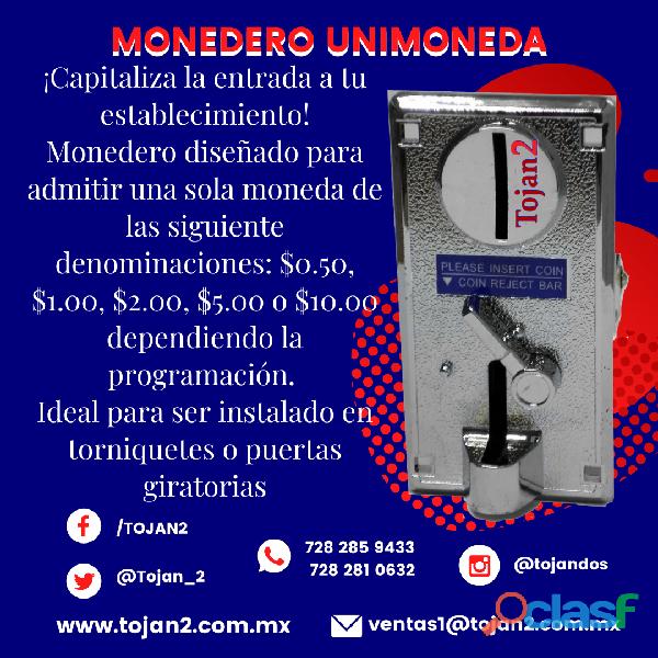 MONEDERO DE COBRO UNIMONEDA