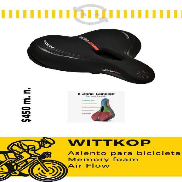 Asiento para bicicleta wittkop