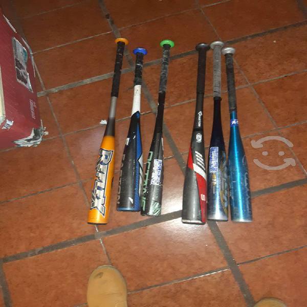 Bat softbol y béisbol $400 cada uno