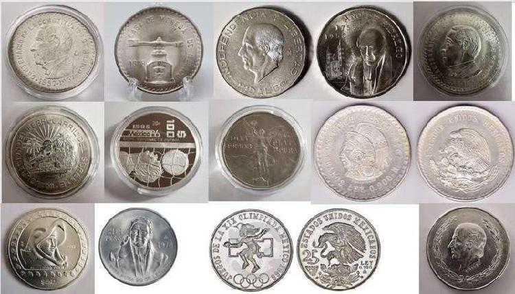 Compra de monedas plata y oro mexicanas