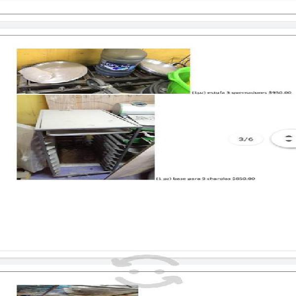 Equipo para cocina por pz o paquete