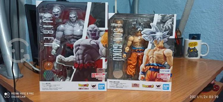 Goku ui y jiren final battle nuevos s.h.figuarts.