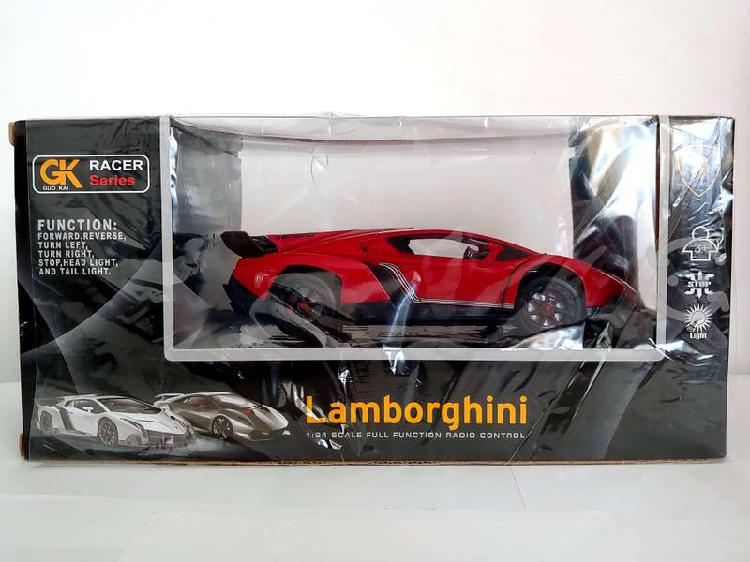 Lamborghini veneno radio control remoto 1:24 luces