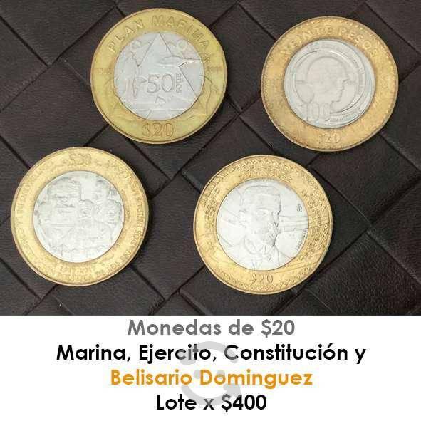 Lote de monedas coleccionables