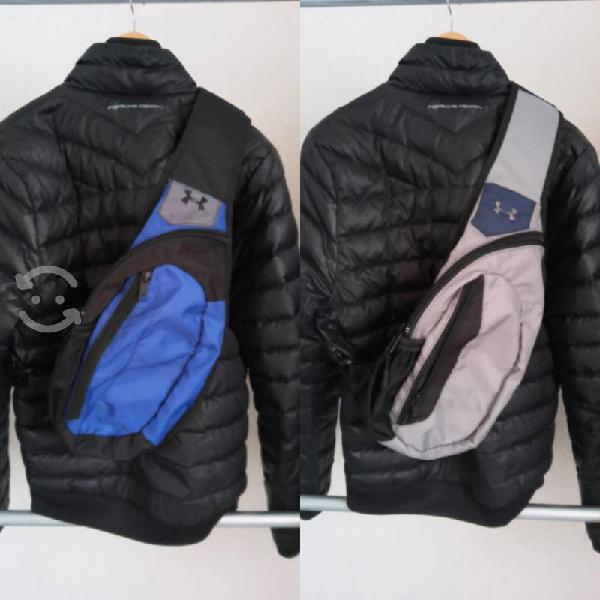 Lujosas maletas cruzadas línea under armour.$500