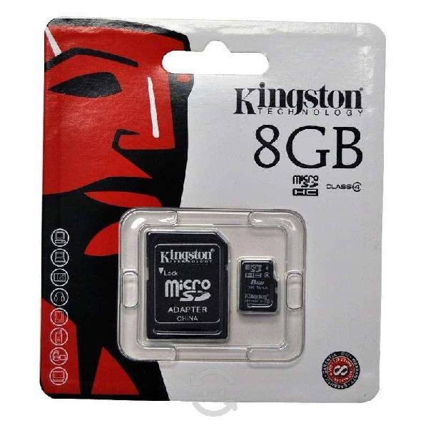 Memoria micro sd 8gb (entrega a domicilio)