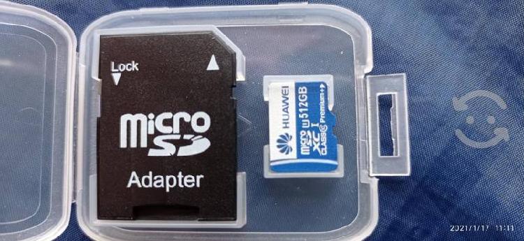 Memoria micro sd huawei 512 gb clase 10