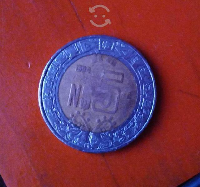 Monedas nuevos pesos n$5 y n$2 1994, 1992