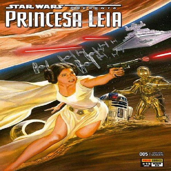 Star wars princesa leia #5 sigmarlibros