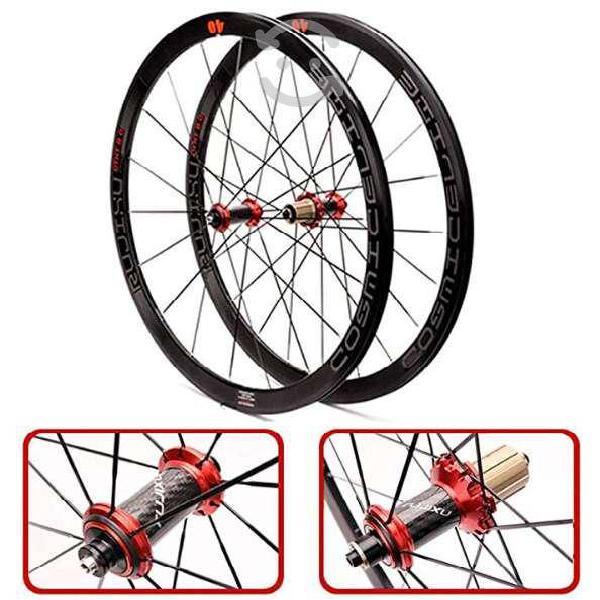 Znnd 700c ultraligero bicicleta conjunto de rueda