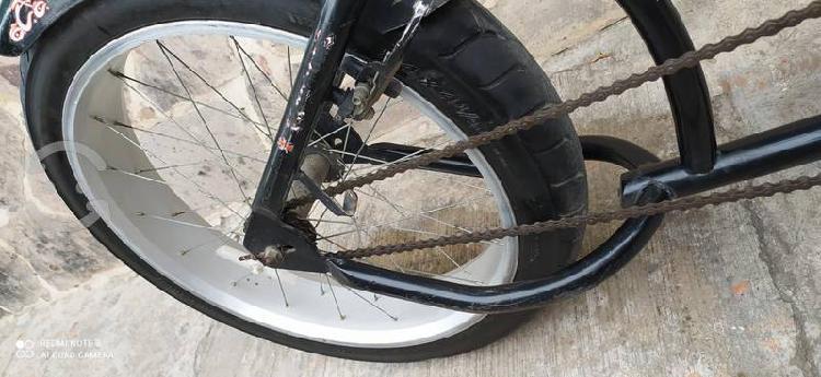 Bicicleta chopper rines aluminio rodado 24x4y medi