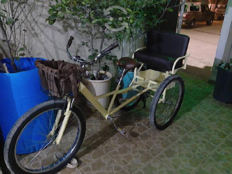 Bicicleta rodado 26, triciclo, tricicleta