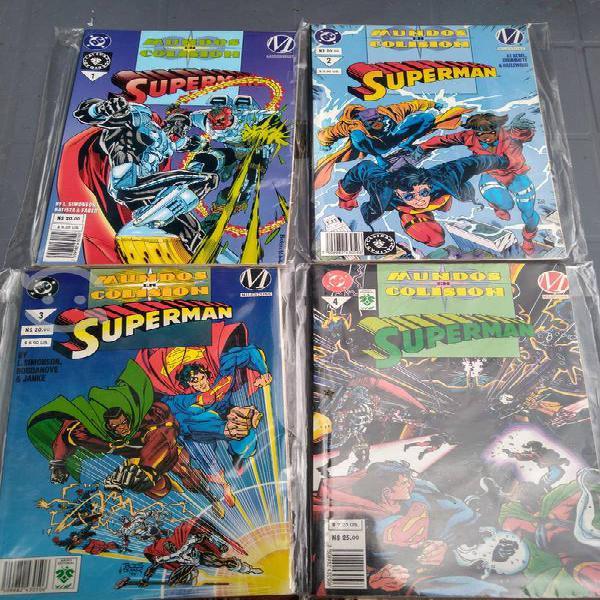 Cómics superman mundo en colisión