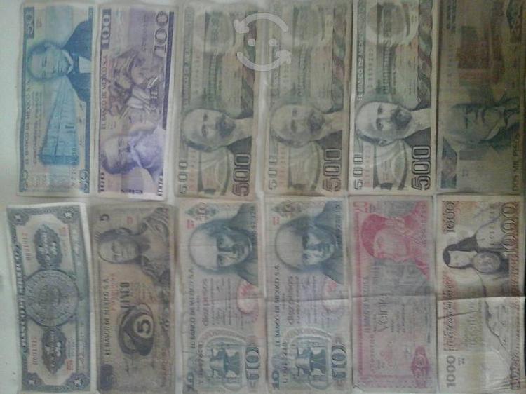Coleccion de billetes antiguos