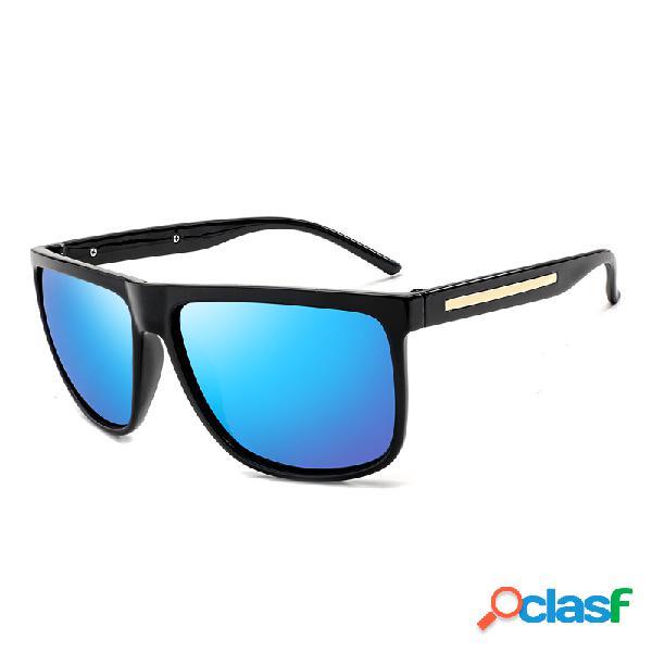 Gafas de sol polarizadas para hombre gafas de sol de protección uv gafas de sol cuadradas de viaje al aire libre
