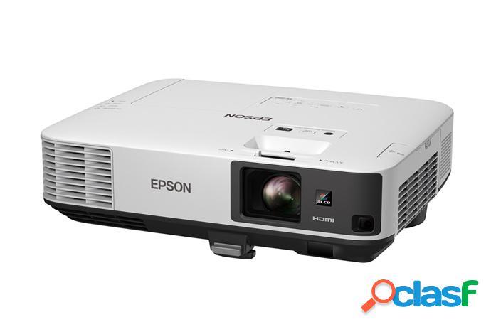 Proyector epson powerlite 2055 3lcd, xga 1024 x 768, 5000 lúmenes, con bocinas, blanco