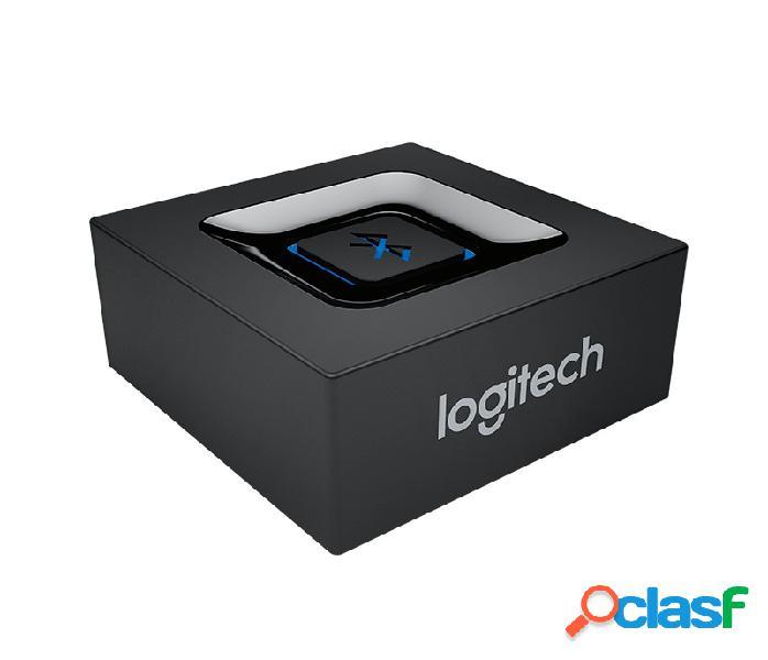Logitech adaptador de audio bluetooth, 3.5mm/usb 2.0, negro
