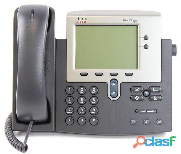 Teléfonos Cisco CP 7940G Rehabilitado