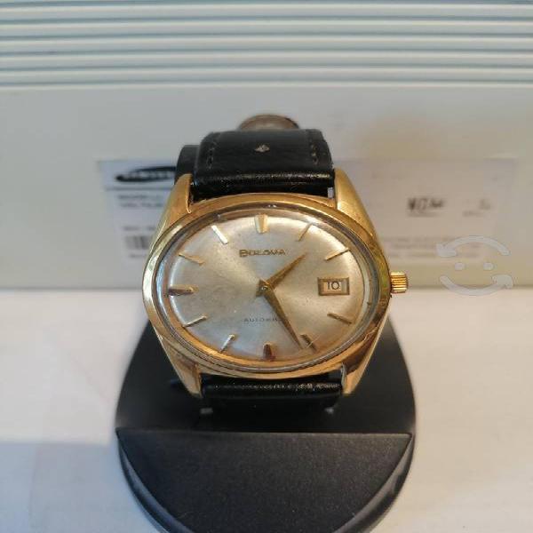 Reloj bulova antiguo automático chapa de oro