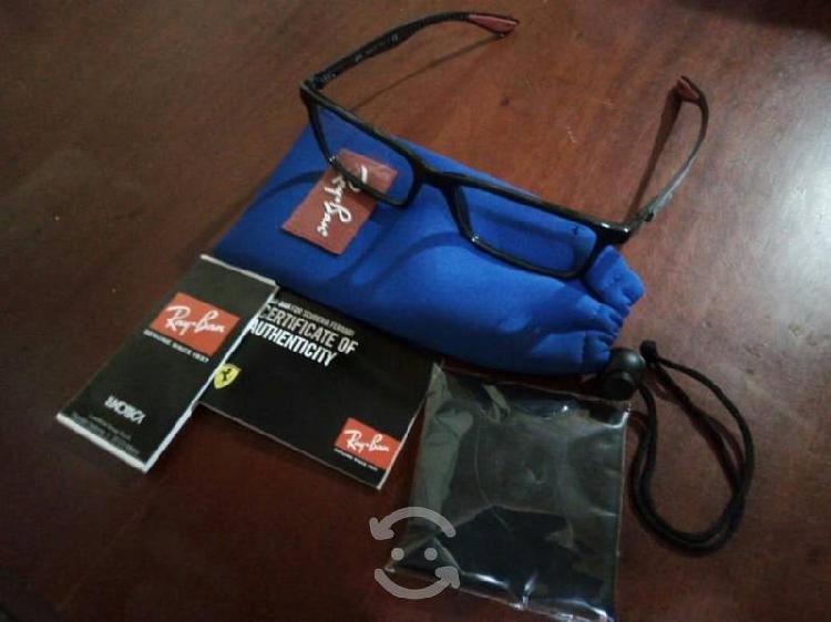 Gafas oftalmicas nuevas rb ferrari con accesorios
