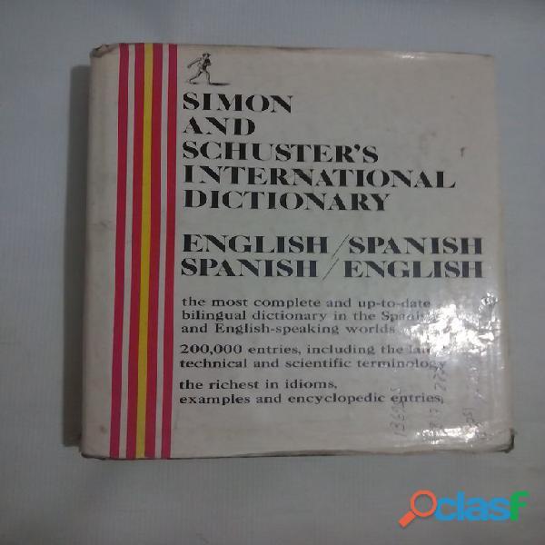 Diccionario internacional simon and schuster