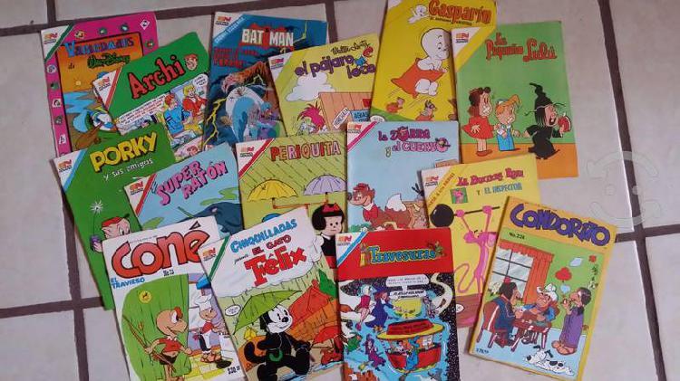 Colección de comics editorial novaro