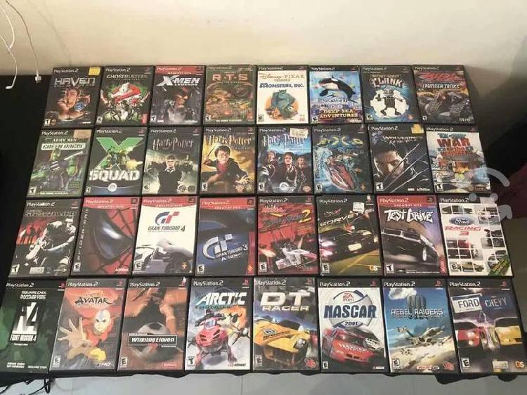 Compro juegos,controles,memorias de ps2 originales