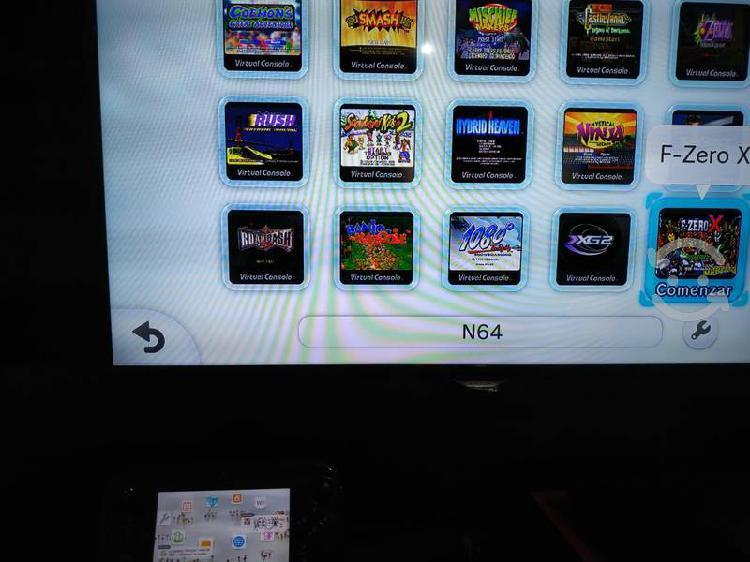 Wii u 32 gb y hdd de 500 gb más de 100 juegos