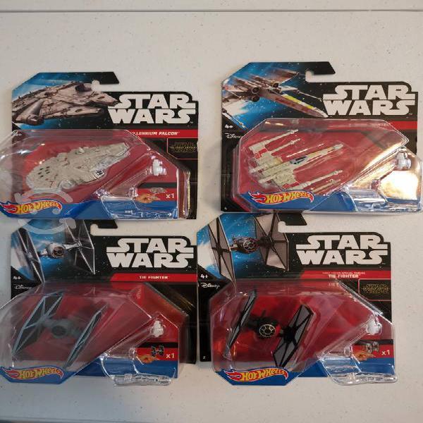 Star wars naves hot wheels 4 pack