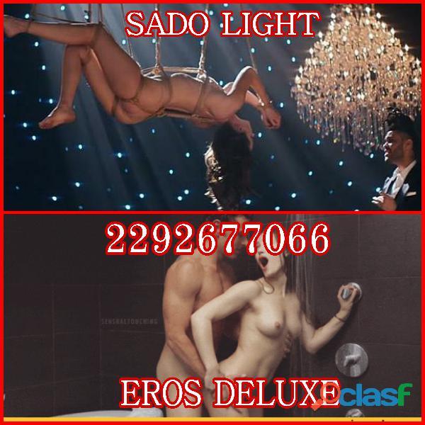 Sado Light y Ejecutivo Deluxe!! Nuevos servicios Eroticos solo en ZAYURI SPA