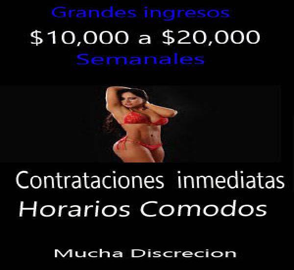 HAY EMPLEO CHICAS -- Su pago diario -- NO PRUEBAS SEXUALES